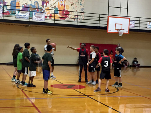 Bolts Basketball Championship Game Victory 2/10