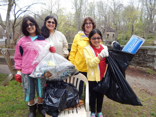 Earth Day Volunteers Make a Difference and the News