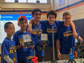 Student Spotlight: Aaron Binstock and Robotics Team are State Champs!