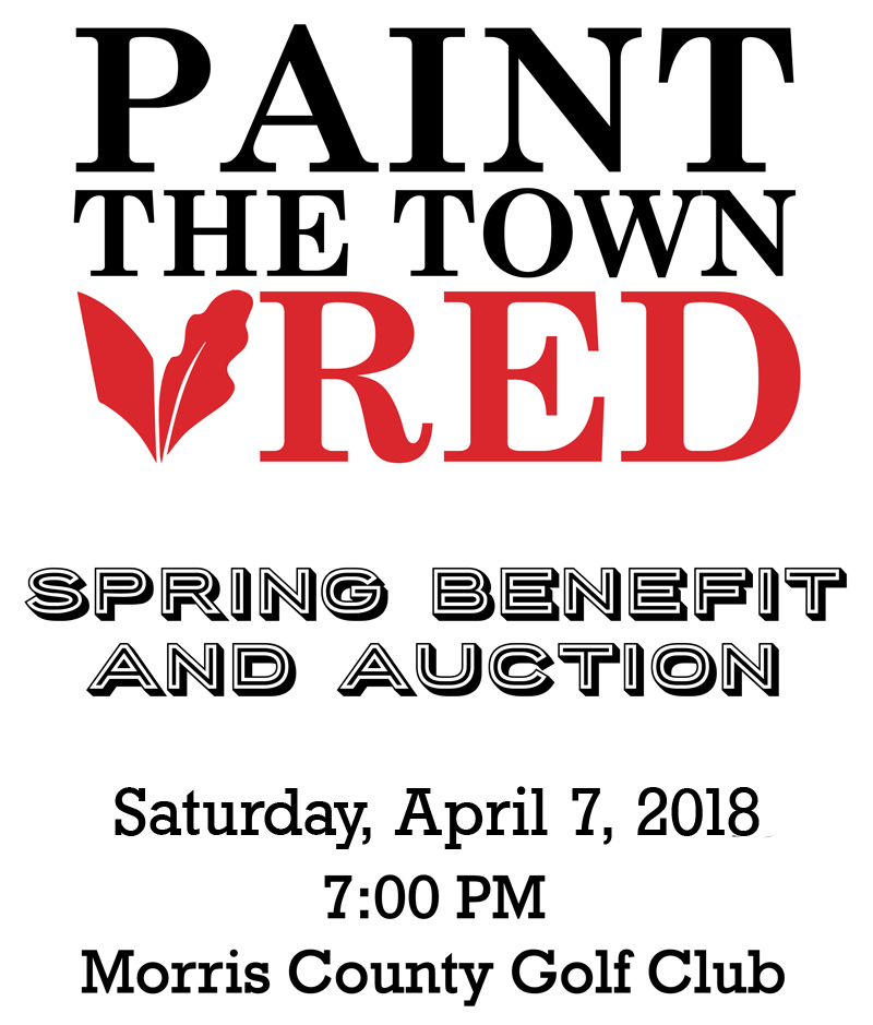 Paint the Town Red Spring Benefit and Auction April 7, 2018
